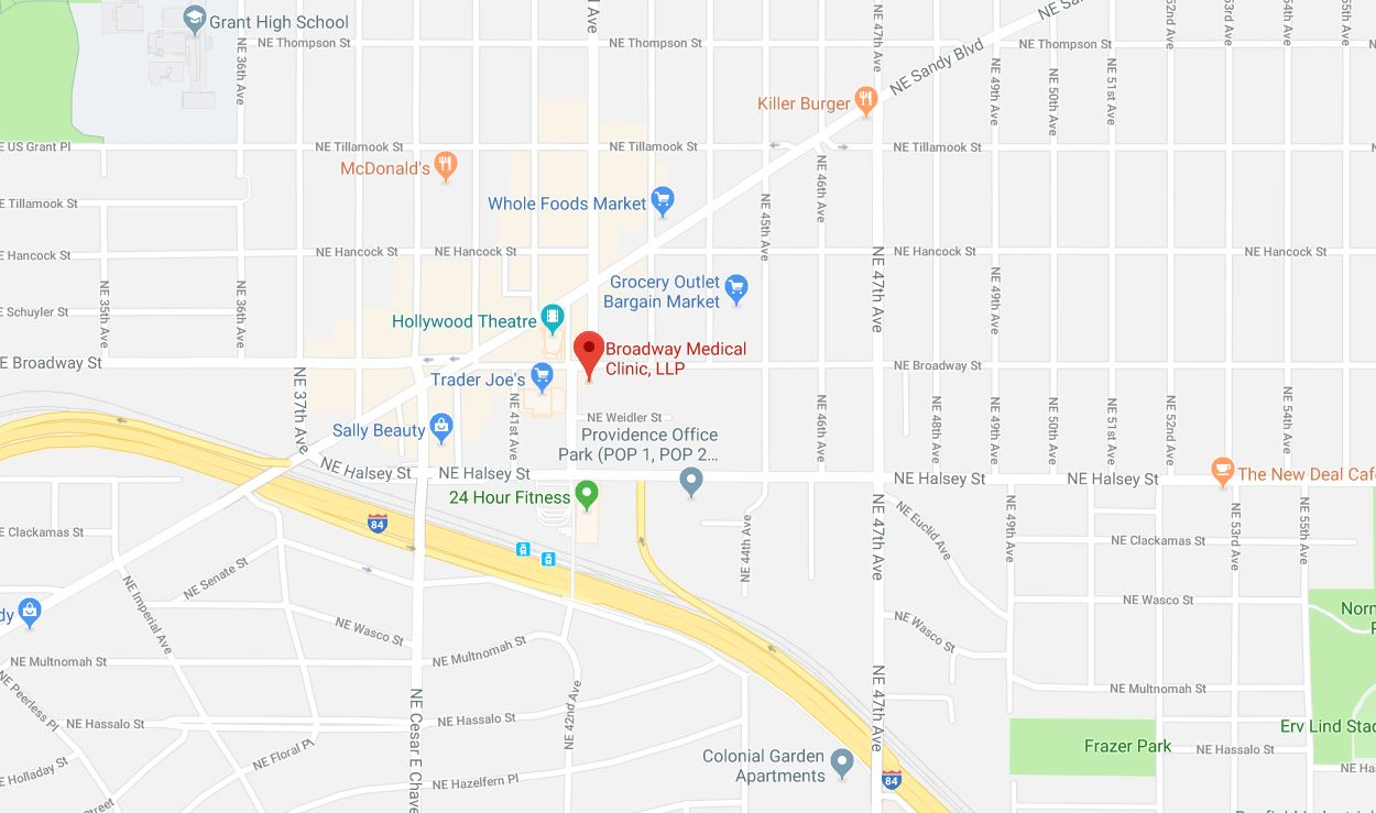 Map Broadway Medical Clinic