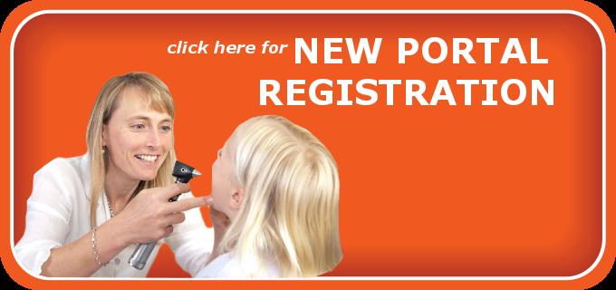 New Portal Registration